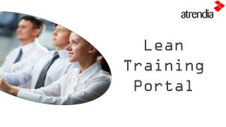 Lean Training Portal