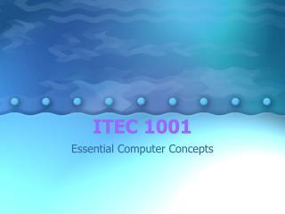 ITEC 1001
