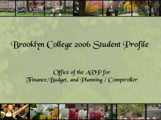 Brooklyn College 2006 Student Profile