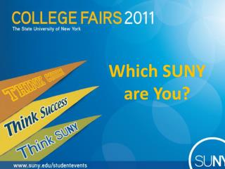 Which SUNY  are You?