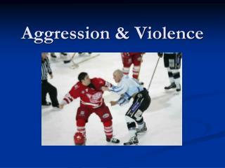 Aggression & Violence