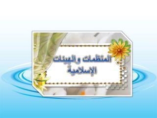 المنظمات والهيئات الإسلامية