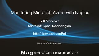 Monitoring Microsoft Azure with Nagios