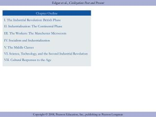 I. The Industrial Revolution: British Phase II. Industrialization: The Continental Phase