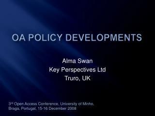 OA policy developments