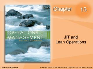 JIT and Lean Operations