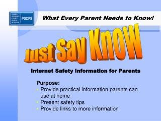 What Every Parent Needs to Know!