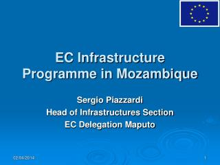EC Infrastructure Programme in Mozambique
