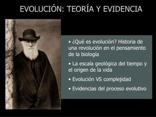 ¿Qué es evolución? Historia de una revolución en el pensamiento de la biología