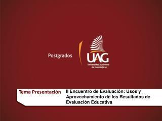 Tema Presentación