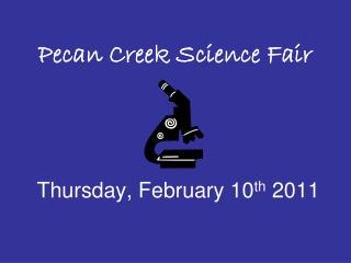 Pecan Creek Science Fair