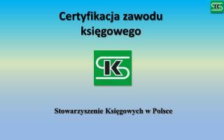 Certyfikacja zawodu  księgowego