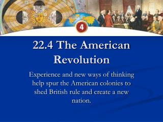 22.4 The American Revolution