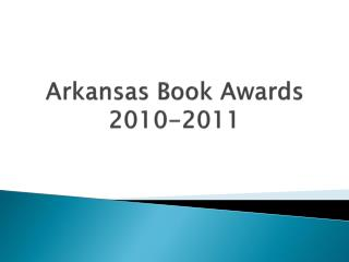 Arkansas Book Awards 2010-2011