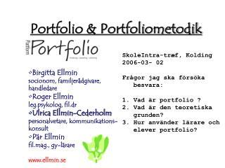 Portfolio & Portfoliometodik