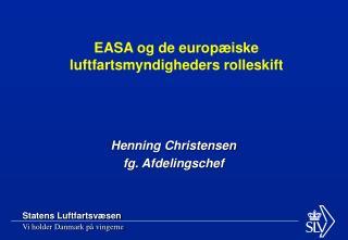 Henning Christensen fg. Afdelingschef
