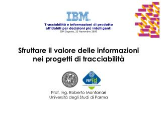 Sfruttare il valore delle informazioni nei progetti di tracciabilità