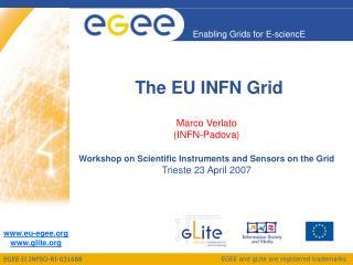 The EU INFN Grid