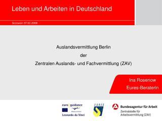 Leben und Arbeiten in Deutschland