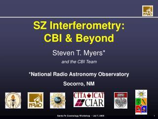 SZ Interferometry:  CBI & Beyond