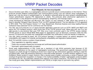 VRRP Packet Decodes