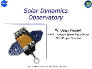 Solar Dynamics Observatory