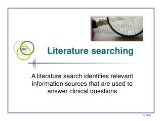 Literature searching