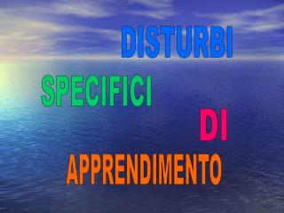 DISTURBI
