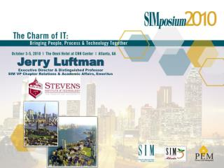 Jerry Luftman Executive Director & Distinguished Professor
