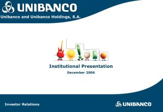 Institutional Presentation December 2006