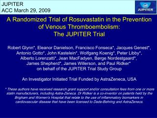 JUPITER ACC March 29, 2009