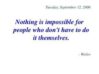 Tuesday, September 12, 2006