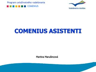 COMENIUS ASISTENTI
