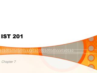 IST 201