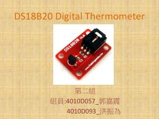 DS18B20 Digital Thermometer