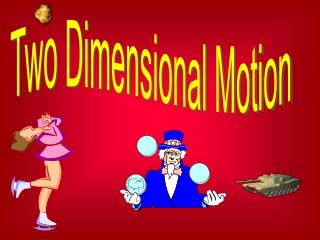Four Major Types of Two Dimensional Motion