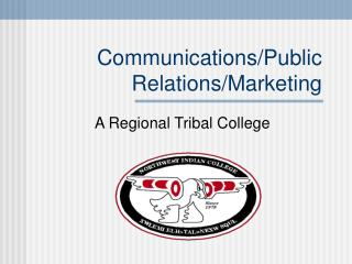 Communications/Public Relations/Marketing