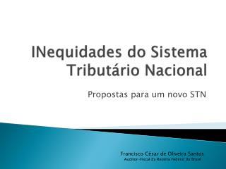 INequidades  do Sistema Tributário Nacional