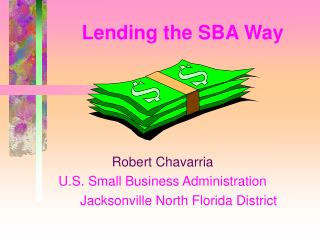 Lending the SBA Way