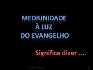 Decálogo aos Médiuns* Por André Luiz