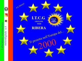 I.T.C.G. GIOVANNI  XXIII RIBERA