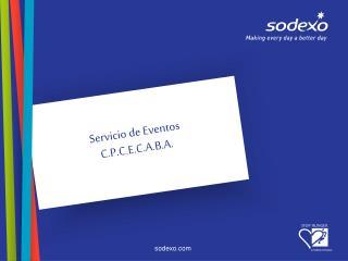 Servicio de Eventos C.P.C.E.C.A.B.A.