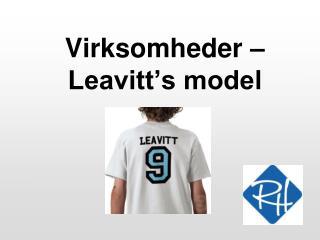 Virksomheder    Leavitt s model