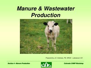 Manure  Wastewater Production