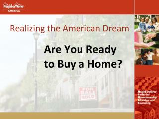 Realizing the American Dream