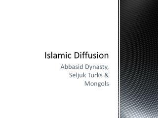 Islamic Diffusion