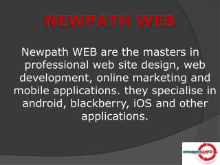 Newpath WEB – Development & Software Outsourcing Company
