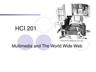 HCI 201
