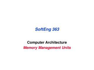 SoftEng 363