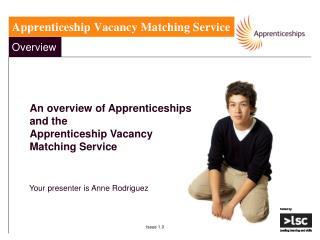 Apprenticeship Vacancy Matching Service